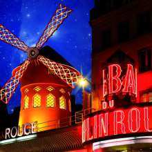 The Moulin Rouge Paris - Hotel Elysées Mermoz