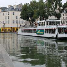 Cruise on the Canal St Martin Hotel Elysées Mermoz
