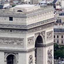 Arc de Triomphe Paris Hôtel Elysées Mermoz